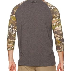 ade9a0cb12976 Under Armour Shirts - Under Armour Men's UA Ridge Reaper tee Forest Camo